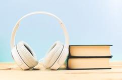 Έννοια του audiobook Στοκ εικόνα με δικαίωμα ελεύθερης χρήσης