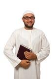 Έννοια το αραβικό άτομο που απομονώνεται με Στοκ φωτογραφίες με δικαίωμα ελεύθερης χρήσης