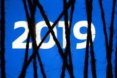 Έννοια των ανησυχιών λογοκρισίας σχετικά με τα κοινωνικά δίκτυα νέο έτος στοκ εικόνες με δικαίωμα ελεύθερης χρήσης