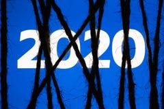 Έννοια των ανησυχιών λογοκρισίας σχετικά με τα κοινωνικά δίκτυα νέο έτος στοκ φωτογραφία με δικαίωμα ελεύθερης χρήσης