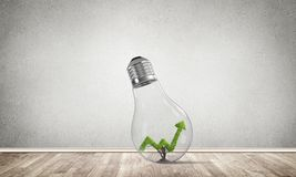 Έννοια των αποτελεσματικών καινοτομιών μάρκετινγκ Στοκ φωτογραφία με δικαίωμα ελεύθερης χρήσης