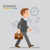 Έννοια των επιχειρηματιών Απεικόνιση αποθεμάτων