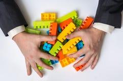 Έννοια των επιχειρησιακών ιδεών στρατηγικής και αναδιοργάνωσης στοκ εικόνες με δικαίωμα ελεύθερης χρήσης