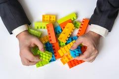 Έννοια των επιχειρησιακών ιδεών στρατηγικής και αναδιοργάνωσης στοκ φωτογραφίες με δικαίωμα ελεύθερης χρήσης