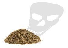έννοια των θανατώσεων καπνίσματος Στοκ Φωτογραφίες