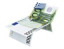 Έννοια των χρημάτων και της σημαίας στοκ εικόνες