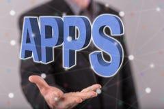 Έννοια των apps Στοκ Εικόνα
