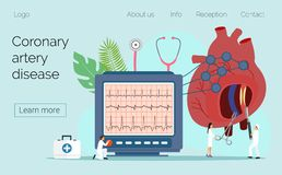Έννοια υγείας της υπότασης και της υπέρτασης διανυσματική απεικόνιση