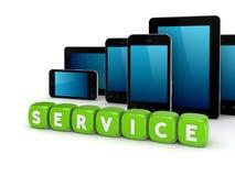 Έννοια υπηρεσιών. απεικόνιση αποθεμάτων