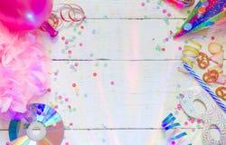 Έννοια υποβάθρου γιορτών γενεθλίων καρναβαλιού στοκ εικόνες
