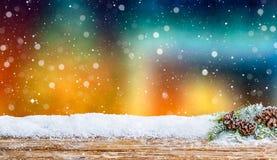 Έννοια υποβάθρου Χριστουγέννων Στοκ Εικόνες