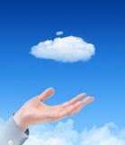 έννοια υπολογισμού σύννεφων Στοκ Εικόνα