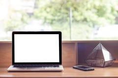 Έννοια, υπολογιστής, εργασιακός χώρος Στοκ φωτογραφία με δικαίωμα ελεύθερης χρήσης