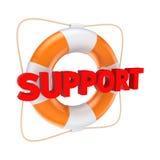 Έννοια υποστήριξης. απεικόνιση αποθεμάτων