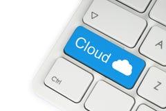 Έννοια υπολογισμού σύννεφων Στοκ φωτογραφία με δικαίωμα ελεύθερης χρήσης