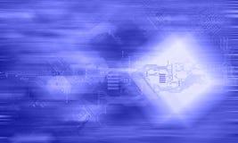 Έννοια υψηλής τεχνολογίας Στοκ φωτογραφία με δικαίωμα ελεύθερης χρήσης
