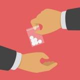 Έννοια φαρμάκων αγοράς Στοκ Φωτογραφίες