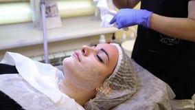 Έννοια φροντίδας δέρματος απόθεμα βίντεο