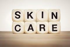 Έννοια φροντίδας δέρματος Στοκ εικόνα με δικαίωμα ελεύθερης χρήσης