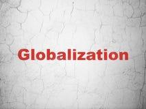 Έννοια χρηματοδότησης: Παγκοσμιοποίηση στο υπόβαθρο τοίχων στοκ φωτογραφίες με δικαίωμα ελεύθερης χρήσης