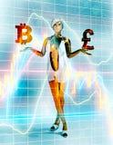 Έννοια χρηματοοικονομικών αγορών ελεύθερη απεικόνιση δικαιώματος