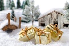 Έννοια Χριστουγέννων Στοκ Εικόνες