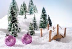 Έννοια Χριστουγέννων Στοκ Φωτογραφίες