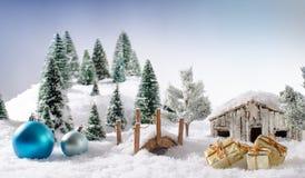 Έννοια Χριστουγέννων Στοκ Εικόνα