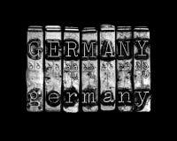 Έννοια χωρών της Γερμανίας Στοκ εικόνες με δικαίωμα ελεύθερης χρήσης