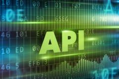Έννοια API Στοκ Εικόνες
