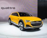 Έννοια Audi χ -χ-tron στοκ εικόνα