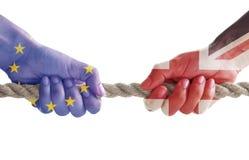 Έννοια Brexit Στοκ εικόνα με δικαίωμα ελεύθερης χρήσης