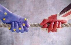 Έννοια Brexit Στοκ εικόνες με δικαίωμα ελεύθερης χρήσης