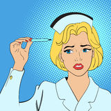 Έννοια comics νοσοκόμων Στοκ Εικόνες