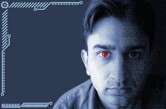 Έννοια Cyborg Στοκ εικόνα με δικαίωμα ελεύθερης χρήσης