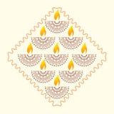 Έννοια Diwali ελεύθερη απεικόνιση δικαιώματος
