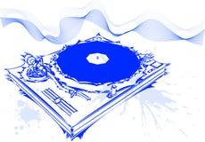 έννοια DJ διανυσματική απεικόνιση