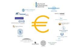Έννοια Eurozone Στοκ Φωτογραφία