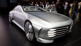 Έννοια IAA ευφυές αεροδυναμικό αυτοκινητικό γ της Mercedes-Benz στοκ εικόνες