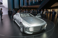 Έννοια IAA της Mercedes-Benz στοκ φωτογραφία με δικαίωμα ελεύθερης χρήσης