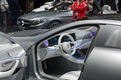 Έννοια IAA της Mercedes-Benz στοκ εικόνες