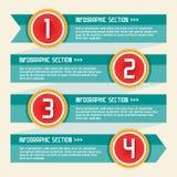 Έννοια 11 Infographic Στοκ φωτογραφίες με δικαίωμα ελεύθερης χρήσης