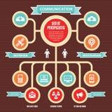 Έννοια 01 Infographic Στοκ εικόνα με δικαίωμα ελεύθερης χρήσης