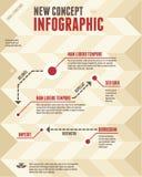Έννοια 03 Infographic Στοκ φωτογραφίες με δικαίωμα ελεύθερης χρήσης