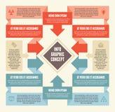 Έννοια 04 Infographic Στοκ φωτογραφία με δικαίωμα ελεύθερης χρήσης