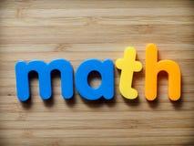 Έννοια Math Στοκ φωτογραφίες με δικαίωμα ελεύθερης χρήσης