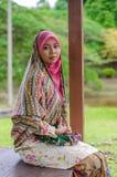 Έννοια Muslimah Στοκ Φωτογραφίες