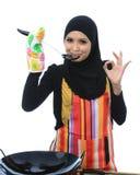 Έννοια Muslimah Στοκ εικόνα με δικαίωμα ελεύθερης χρήσης