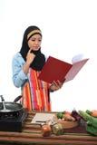 Έννοια Muslimah Στοκ φωτογραφία με δικαίωμα ελεύθερης χρήσης