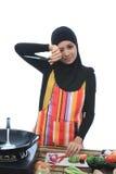 Έννοια Muslimah Στοκ φωτογραφίες με δικαίωμα ελεύθερης χρήσης